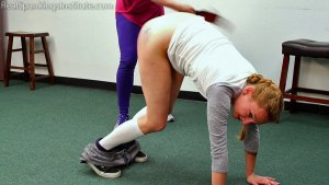 Real Spankings Institute - London Disrupts Gym Class, Again. (part 2 Of 2) - image 6