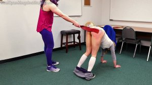 Real Spankings Institute - London Disrupts Gym Class, Again. (part 2 Of 2) - image 7