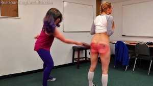 Real Spankings Institute - London Disrupts Gym Class, Again. (part 2 Of 2) - image 10