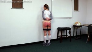 Real Spankings Institute - London Disrupts Gym Class, Again. (part 1 Of 2) - image 16