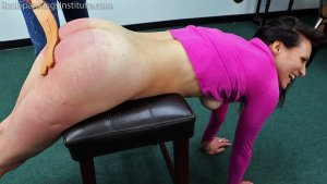Real Spankings Institute - Delta's Dress Code Violation - image 14