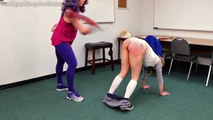 Real Spankings Institute - London Disrupts Gym Class, Again. (part 2 Of 2) - image 9