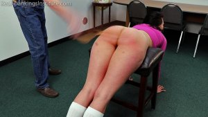 Real Spankings Institute - Delta's Dress Code Violation - image 8