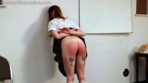 Real Spankings Institute - Sadie's Punished By The Dean (part 1 Of 2) - image 3