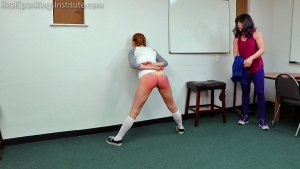 Real Spankings Institute - London Disrupts Gym Class, Again. (part 2 Of 2) - image 11