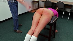 Real Spankings Institute - Delta's Dress Code Violation - image 16