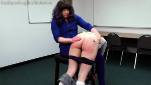 Real Spankings Institute - London Disrupts Gym Class, Again. (part 1 Of 2) - image 14