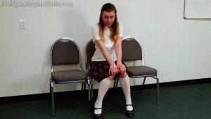 Real Spankings Institute - Sadie's Punished By The Dean (part 1 Of 2) - image 6