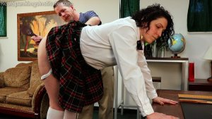 Real Spankings Institute - Jordyn's Visit To The Dean's Office (part 2) - image 12