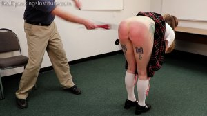 Real Spankings Institute - Sadie: Punished By The Dean (part 2 Of 2) - image 12