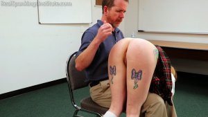 Real Spankings Institute - Sadie's Punished By The Dean (part 1 Of 2) - image 14