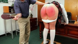 Real Spankings Institute - Jordyn's Visit To The Dean's Office (part 2) - image 14