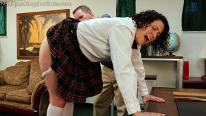 Real Spankings Institute - Jordyn's Visit To The Dean's Office (part 2) - image 9