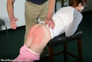 Real Spankings Institute - Isabella: Spanked For Lack Of Enthusiasm In Gym (part 1 Of 2) - image 14