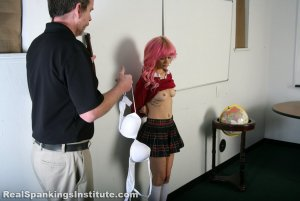 Real Spankings Institute - Kiki Is Strapped For No Bra - image 10