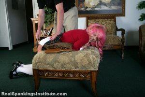 Real Spankings Institute - Kiki: Spanked With Spoon & Breadboard - image 4