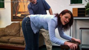 Real Spankings Institute - Paddled For Wasting Time - image 2