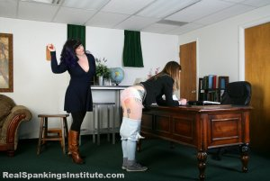 Real Spankings Institute - Sadie's Arrival At The Institute (part 1 Of 2) - image 17