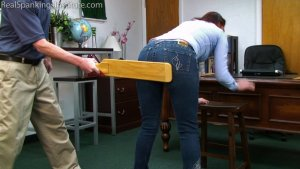 Real Spankings Institute - Paddled For Wasting Time - image 7