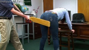 Real Spankings Institute - Paddled For Wasting Time - image 9
