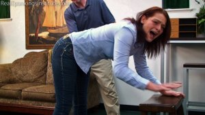 Real Spankings Institute - Paddled For Wasting Time - image 3