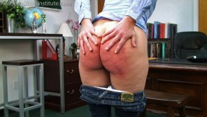 Real Spankings Institute - Paddled For Wasting Time - image 5