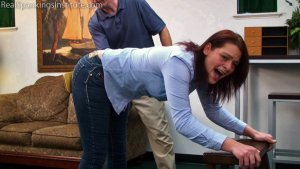 Real Spankings Institute - Paddled For Wasting Time - image 4