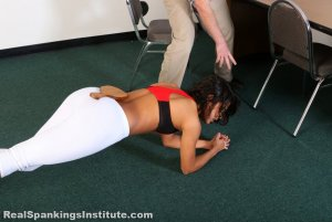 Real Spankings Institute - Cleo's Yoga Paddling - image 6