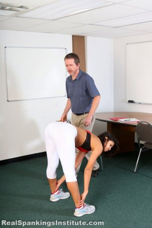 Real Spankings Institute - Cleo's Yoga Paddling - image 10