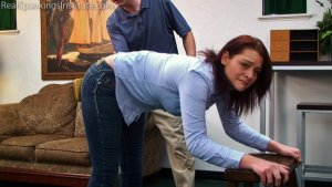 Real Spankings Institute - Paddled For Wasting Time - image 8
