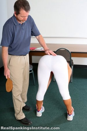 Real Spankings Institute - Cleo's Yoga Paddling - image 15