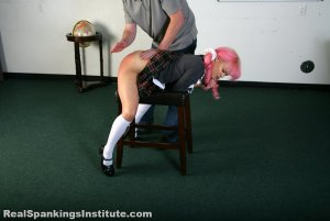 Real Spankings Institute - Kiki's Trouble With The Dean (part 1 Of 2) - image 12