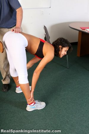 Real Spankings Institute - Cleo's Yoga Paddling - image 13