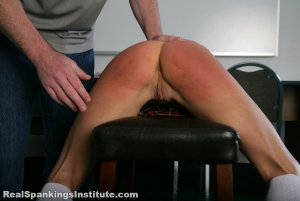 Real Spankings Institute - Kiki's Trouble With The Dean (part 1 Of 2) - image 11