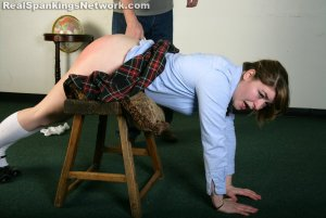 Real Spankings Institute - Hailey Is Punished By The Dean (part 2 Of 2) - image 8