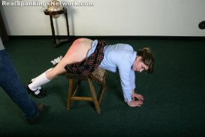 Real Spankings Institute - Hailey Is Punished By The Dean (part 2 Of 2) - image 5