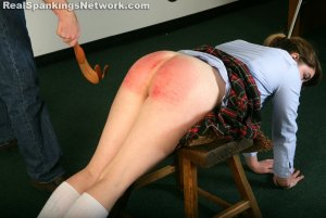 Real Spankings Institute - Hailey Is Punished By The Dean (part 2 Of 2) - image 13
