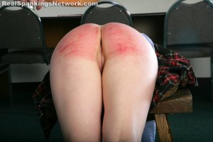 Real Spankings Institute - Hailey Is Punished By The Dean (part 2 Of 2) - image 14