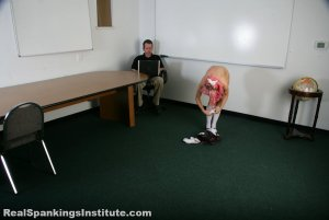 Real Spankings Institute - Kiki: Spanked By The Dean - image 4