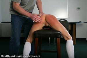 Real Spankings Institute - Kiki's Trouble With The Dean (part 1 Of 2) - image 13