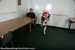 Real Spankings Institute - Kiki: Spanked By The Dean - image 7