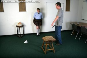 Real Spankings Institute - Hailey Is Punished By The Dean (part 2 Of 2) - image 9