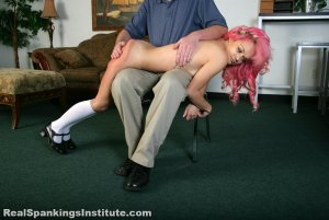 Real Spankings Institute - Kiki's Dress Code Violations (part 1 Of 2) - image 6