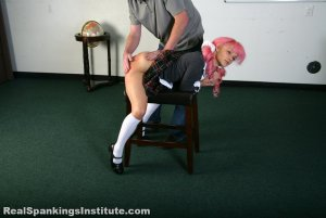 Real Spankings Institute - Kiki's Trouble With The Dean (part 1 Of 2) - image 14