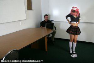 Real Spankings Institute - Kiki: Spanked By The Dean - image 12
