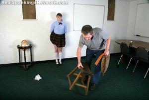 Real Spankings Institute - Hailey Is Punished By The Dean (part 2 Of 2) - image 16