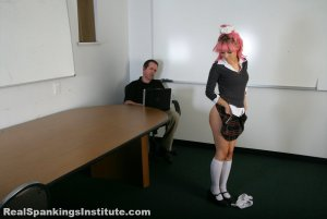 Real Spankings Institute - Kiki: Spanked By The Dean - image 11