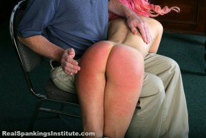 Real Spankings Institute - Kiki's Dress Code Violations (part 1 Of 2) - image 14