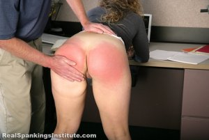 Real Spankings Institute - Maya And Rae: Punished By The Dean (part 1 Of 4) - image 4