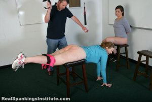 Real Spankings Institute - Spanked For Gym Infractions (part 3 Of 4) - image 2